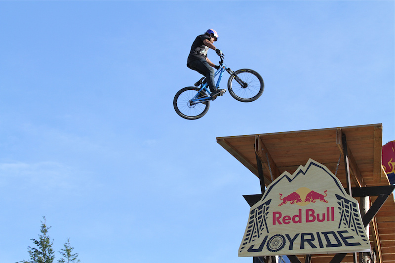 Yannick Granieri spins the Joyride drop