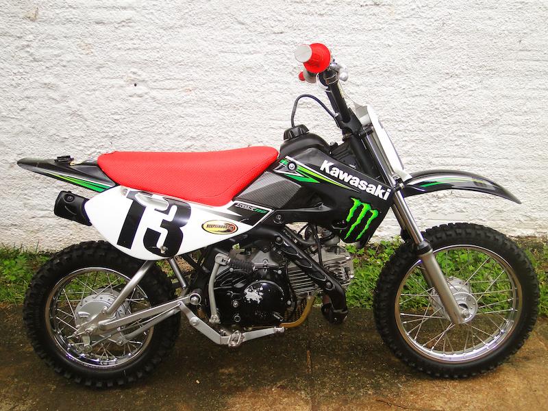 Pitbike Project On Brazil Klx 110 Monster