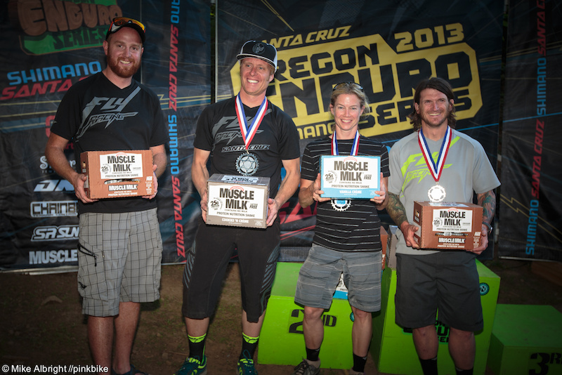 Muscle Milk Team winners Fly Racing
