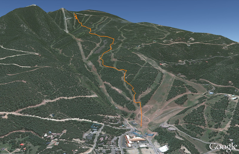 The course is a combination of Chiilin Fo Sho new Supreme DH and World Cup. Running 2.45 miles long and descending 1 937 feet this race course is sure to challenge even the best of riders.