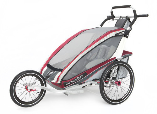2012 Chariot CX2 Double Carrier Stroller with Jogging ...