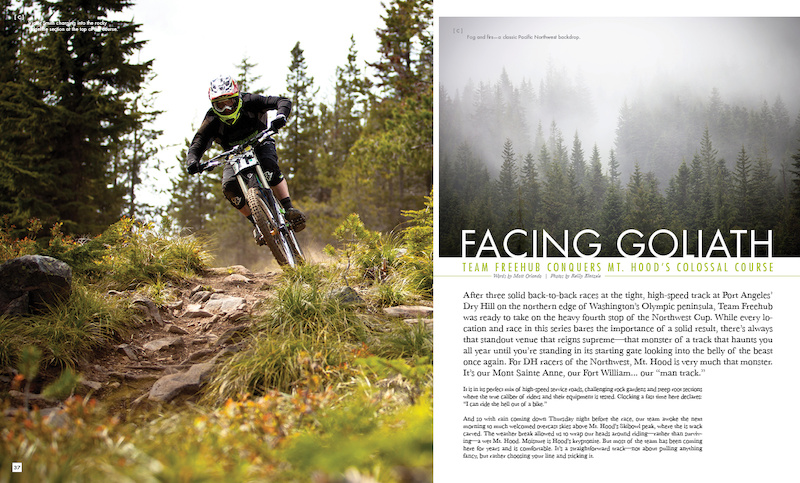 The Freehub downhill race team pushes their limits and race their hearts out during the infamous Mt. Hood Northwest Cup. A glimpse into the life of and preparation of Team Freehub.