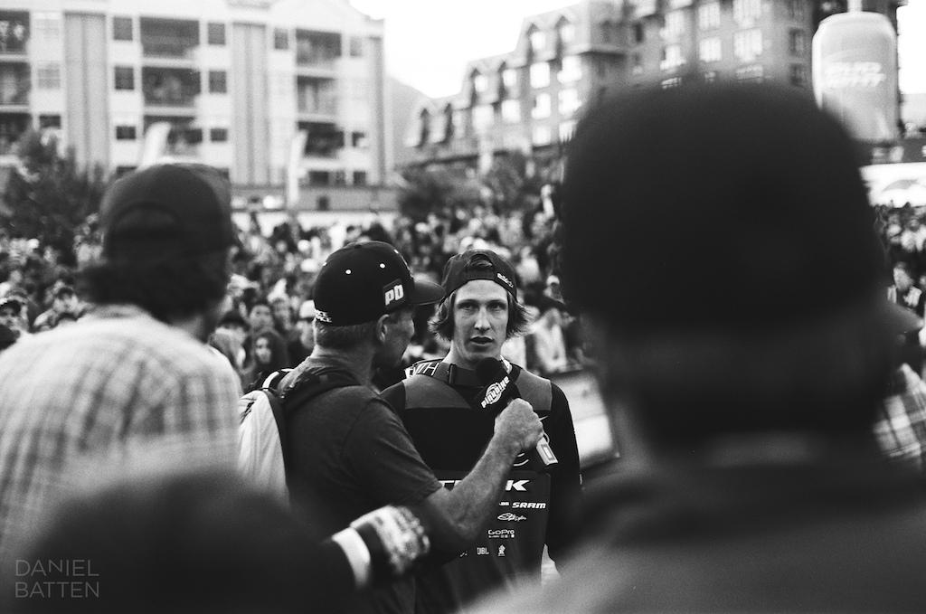 Post win Interview 35mm black amp white film