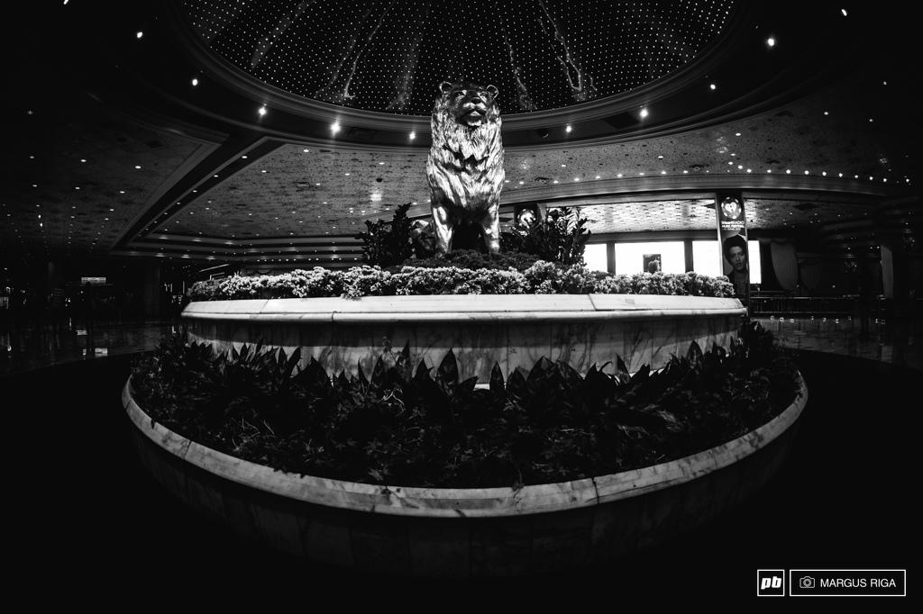 MGM Grand Hotel lobby.