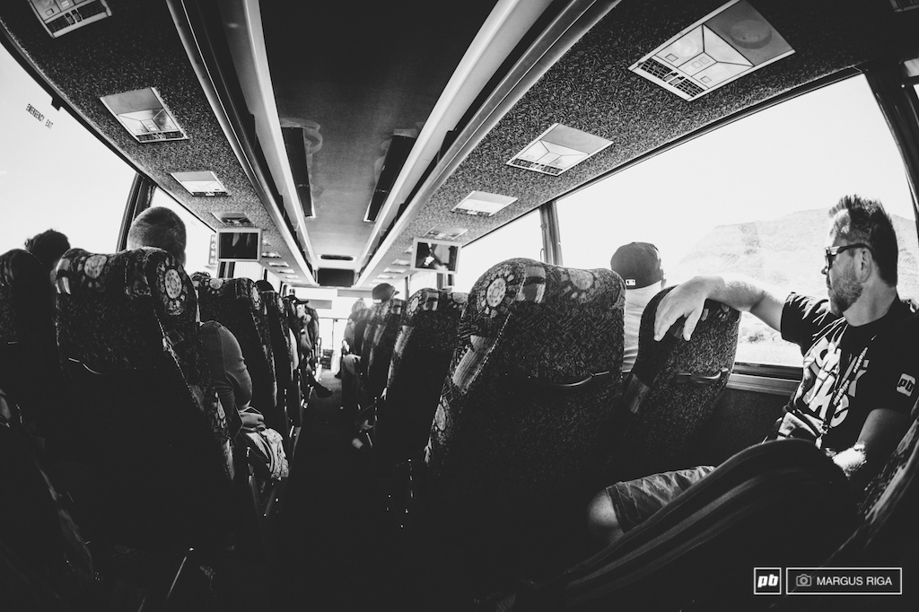 Shuttle bus blues.