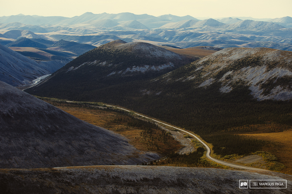 The Dempster Highway just goes and goes. I want to go back and soon.