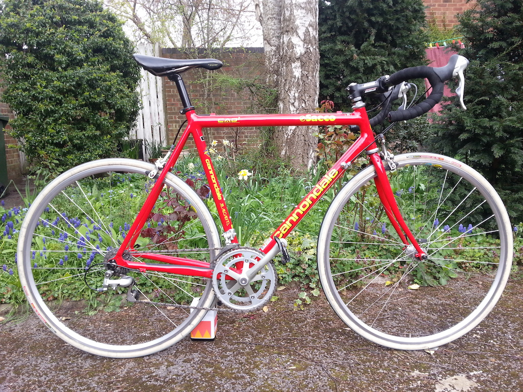 b6ae288ce19 SOLD 1998 Cannondale Saeco CAAD2 - Near New Condition - 56cm | Retrobike