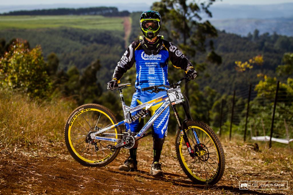 Sam Hill S Nukeproof Race Bike Pietermaritzburg World