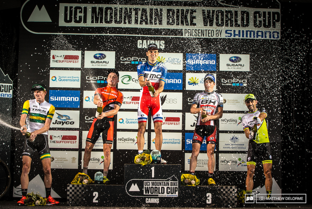 xc world cup finals podium mens