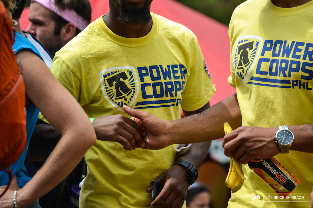 The Power Corps PHL were an integral part of getting work done on the track. Many of them are planning on getting bikes and into the sport going forward.