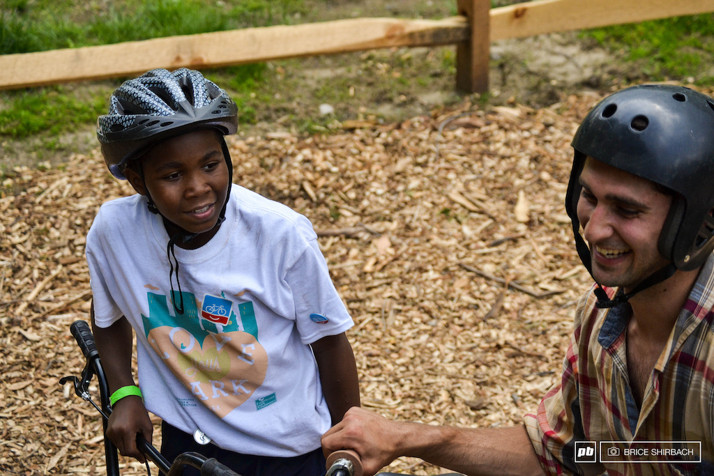 BMX pros and kids who are new to the sport had the opportunity to connect during the grand opening celebration.