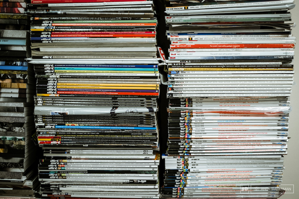 stacks of mags