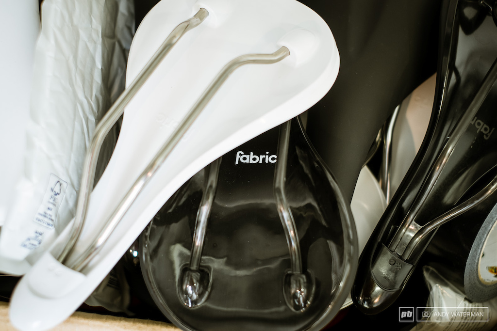 Fabric saddles ready to test