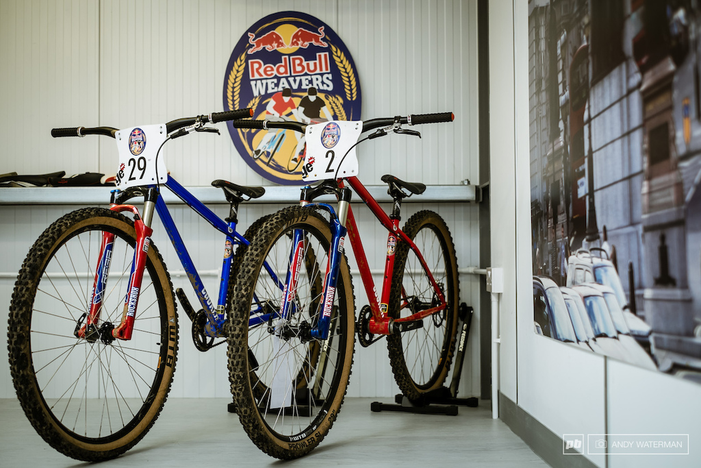 The Charge bikes used for Red Bull Weavers