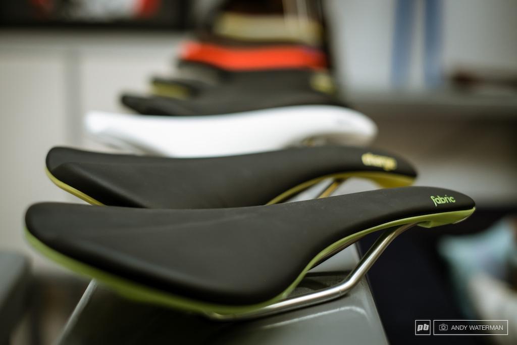 Fabric s new saddle range