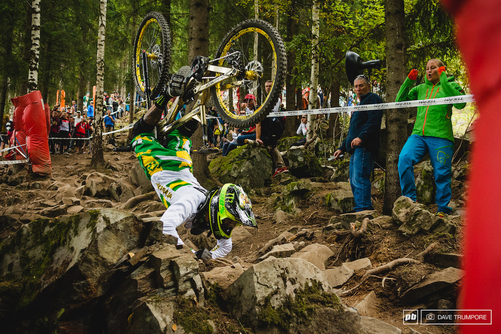 Here S A Better Shot Of The Sam Hill Crash I Guess This