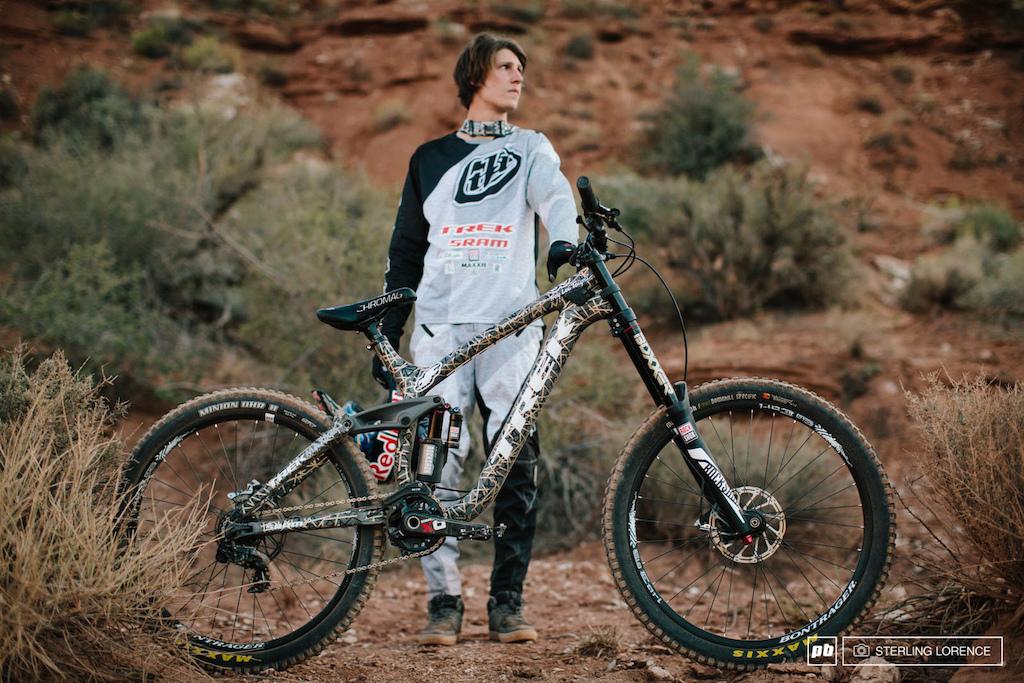 Блог им. Troy: Велосипеды участников Red Bull Rampage 2014