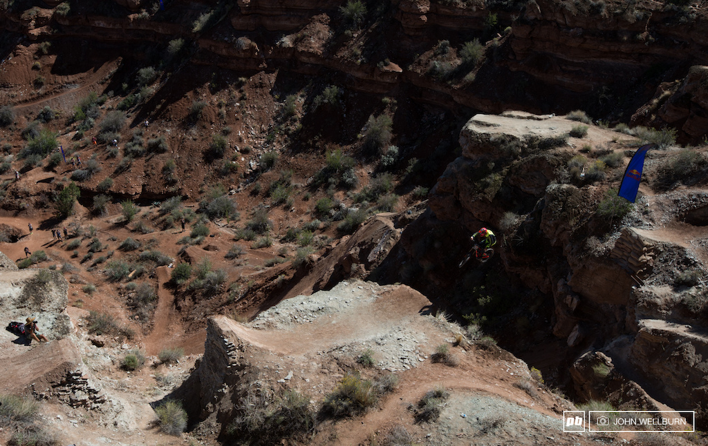 The first of Brenden s canyon gaps.