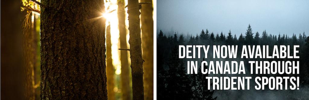 DEITY x TRIDENT Deity proudly distributed in Canada by Trident Sports www.tridentsports.com
