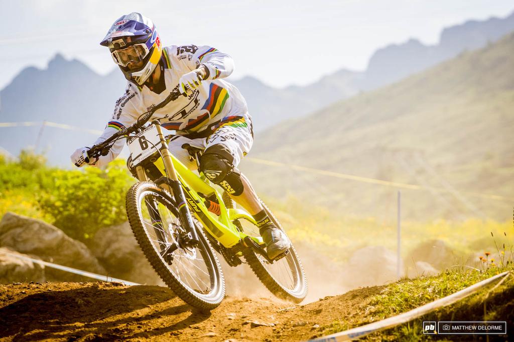Блог компании Триал-Спорт: GT: Рэйчел Афертон. Четвертый этап Кубка Мира и третья победа подряд