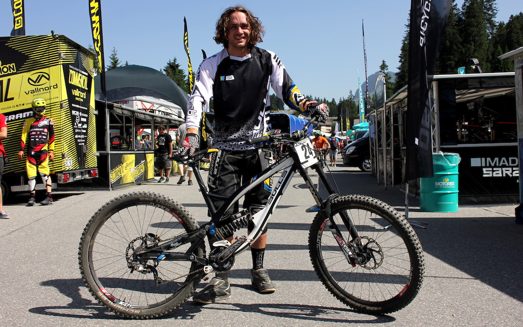 bike check wyn masters 39 bulls world cup dh lenzerheide. Black Bedroom Furniture Sets. Home Design Ideas