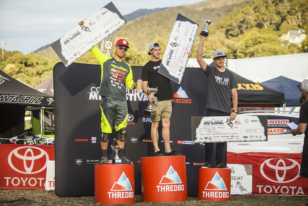 Flow Podium with Mudd in second place. c Tim Bardsley-Smith