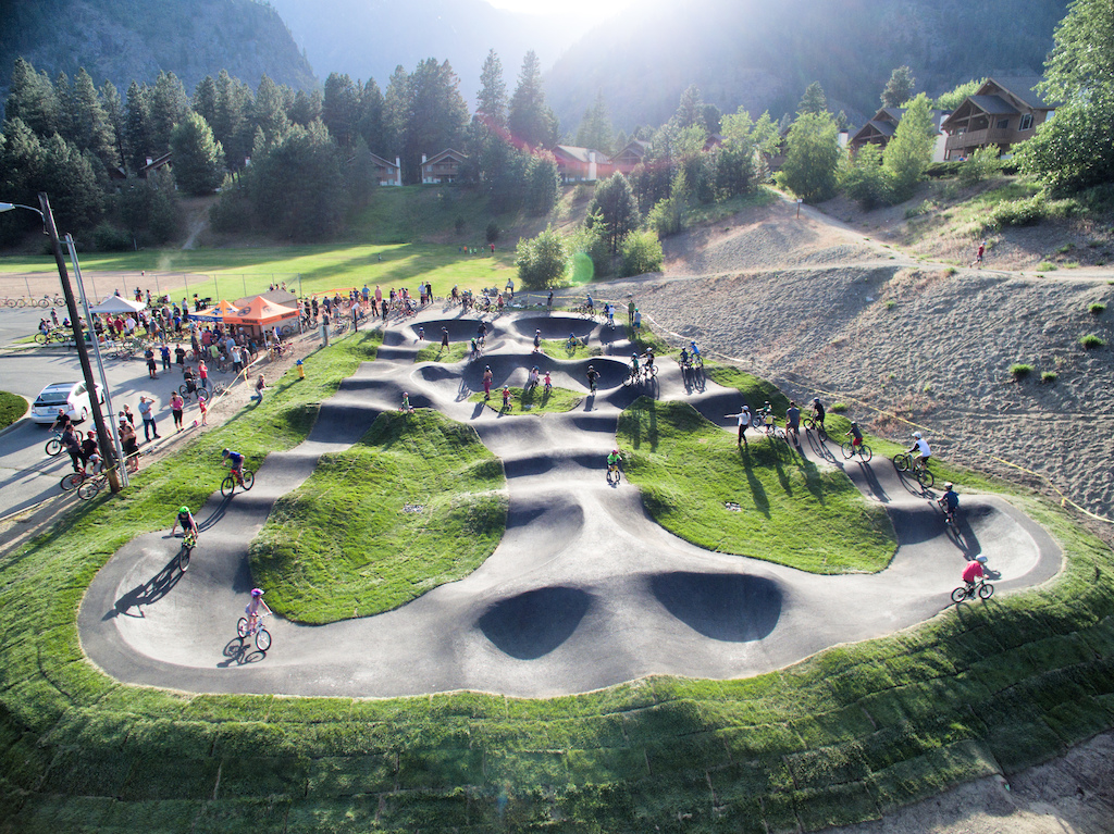 Leavenworth (WA) United States  city photo : at Velosolutions Pumptrack in Leavenworth, Washington, United States ...