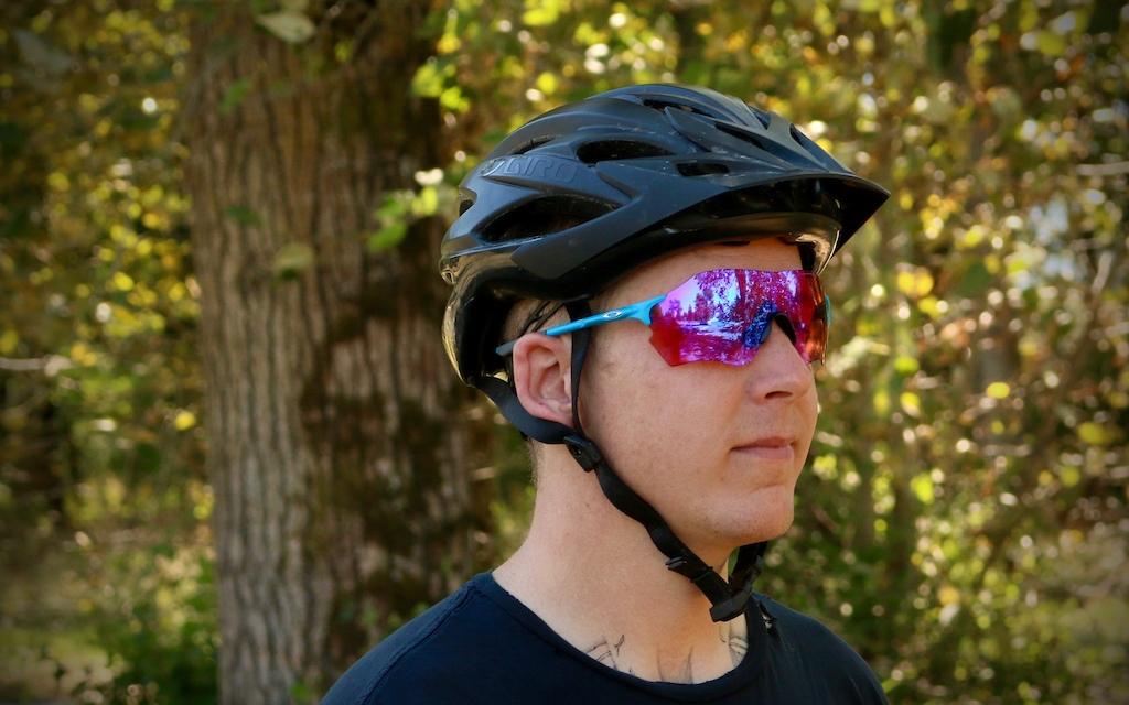 Oakley Evzero Range Prizm Trail Review Pinkbike