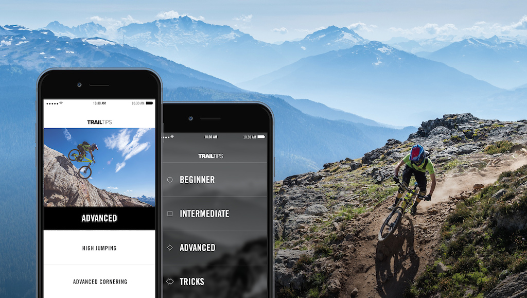 Trail Tips riding app