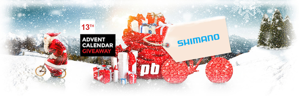 PB Advent Calendar 2016 - 13 December - Shimano - Header