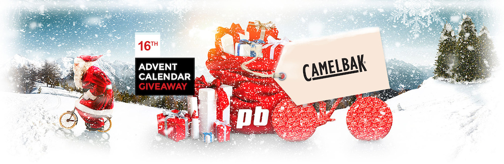 Pinkbike Advent Calendar 2016 - 16 December - Camelbak - header image