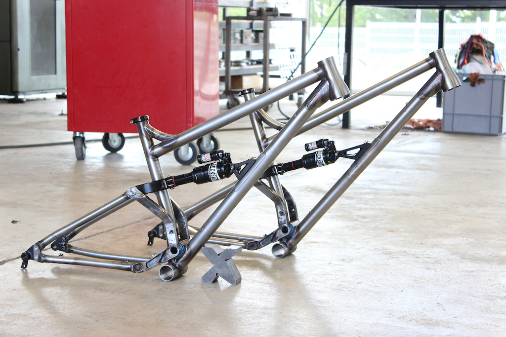 Shan n 5 in the making our very first full suspension bike