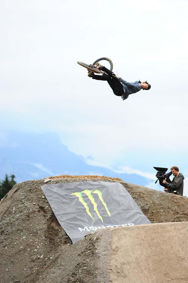 Brandon Semenuk with a sick 360 flip to win Best Trick as well 26TRIX Press photo