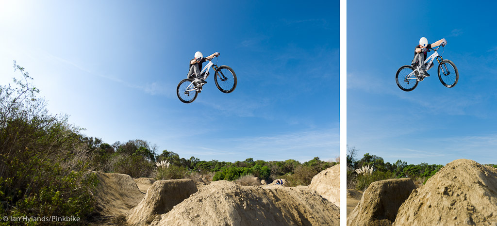 Dan Atherton rides at Sheep Hills in California