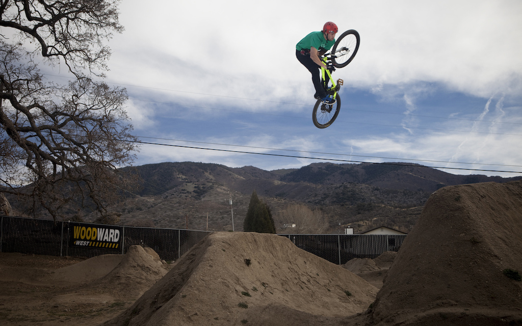 On our last day at Woodward West the guys decided to ride the outdoor trails. Cory Nastazio came through last season and gave them a bad ass revamp. Gully reaps the benifits of Nasty s hardwork.
