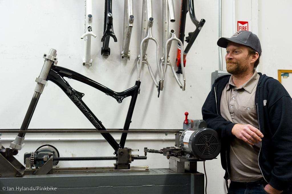 Santa Cruz Bikes testing facilites