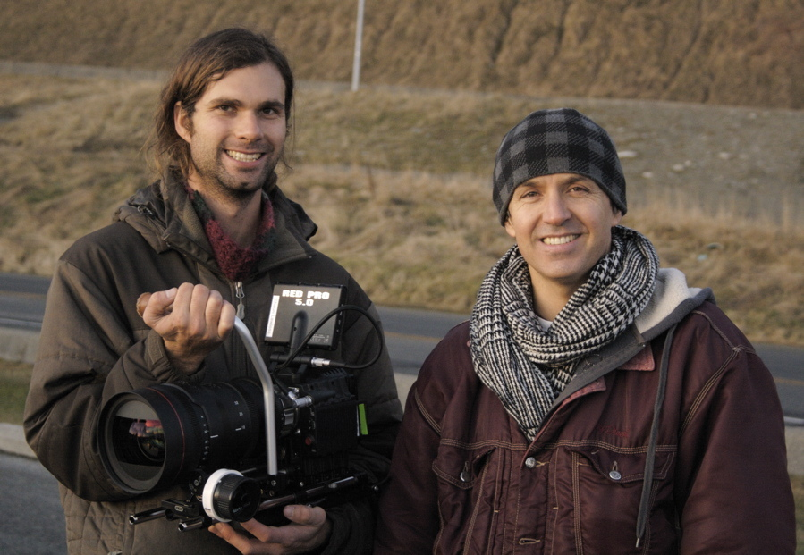 Scot and Shawn with the RED EPIC