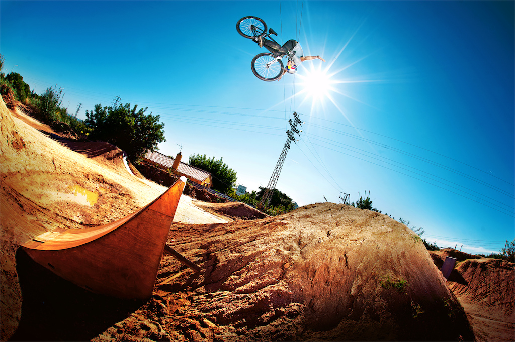 Szymon Godziek at La Poma bikepark with his Cody. Photo by Kuba Konwent. Ride Your Way 2 Bling.