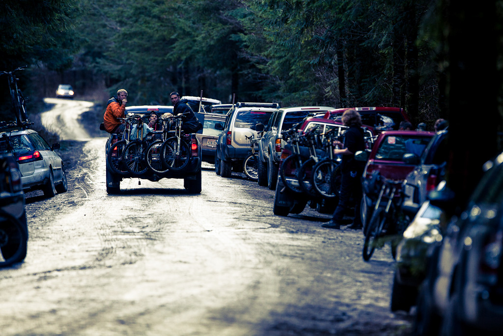 Bikes. Everywhere.