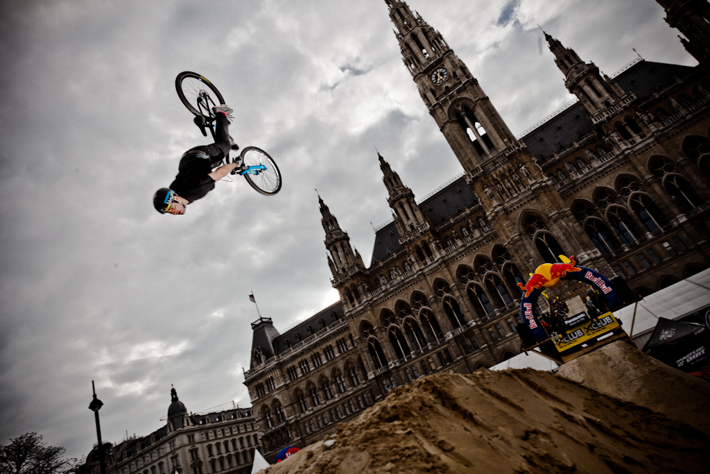 Amir Kabbani Backflip at the 2012 Vienna Air King FMB event.