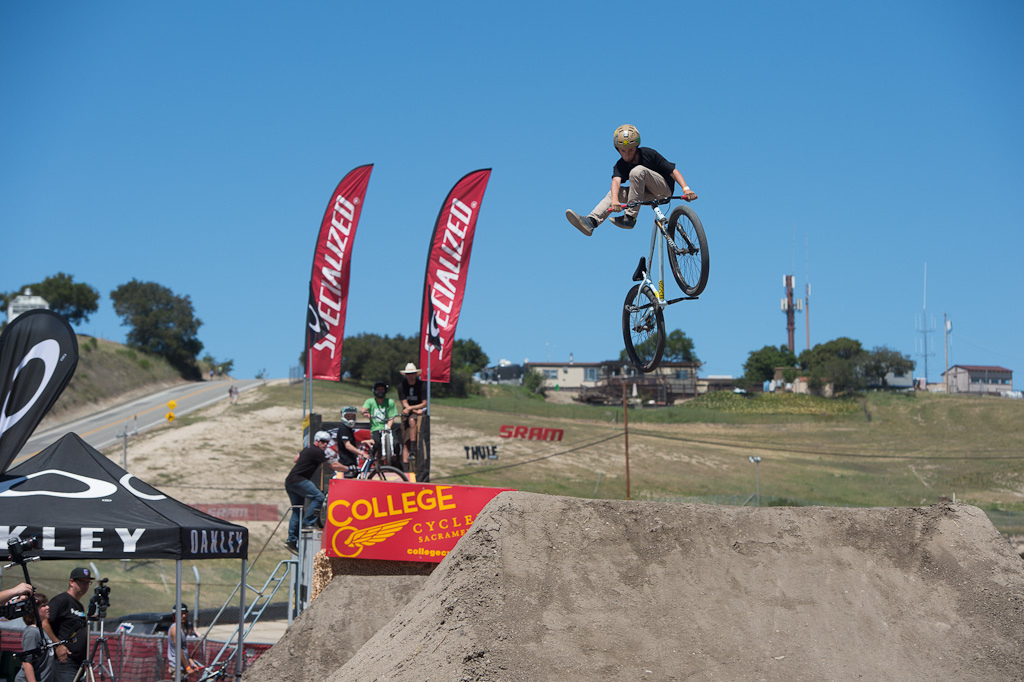 12 year old Conner Gallart at the Sea Otter Rain or Shine Jam