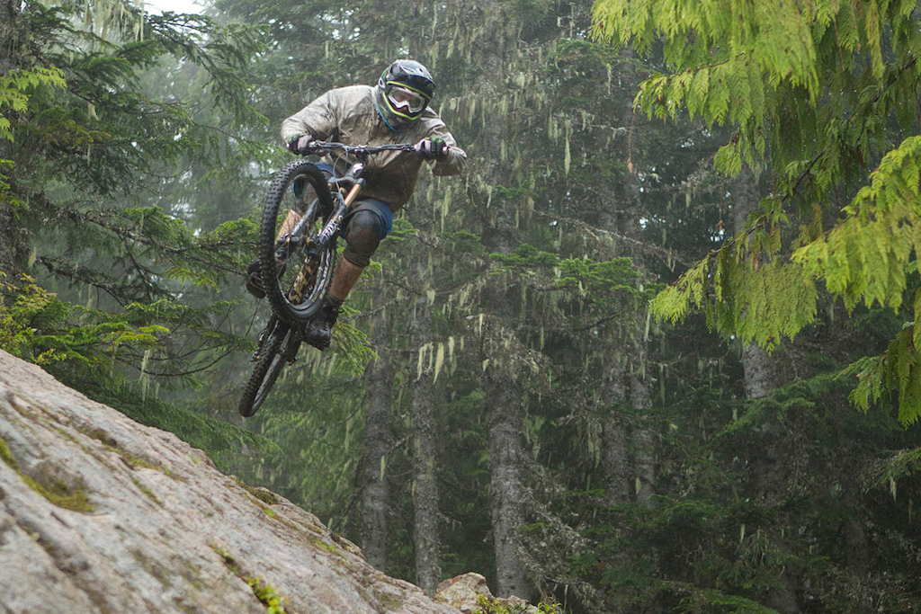 Brad Walton at 2012 Shimano Saint launch in Whistler British Columbia