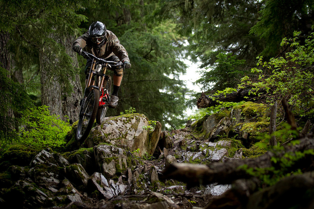 Matt Hunter at 2012 Shimano Saint launch in Whistler British Columbia