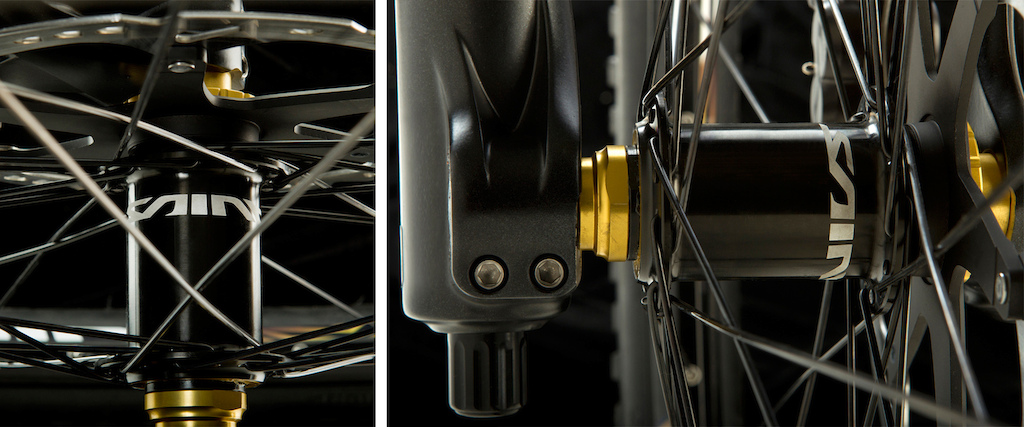 Shimano Saint front and rear hubs