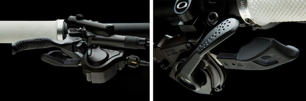 Shimano Saint brake levers