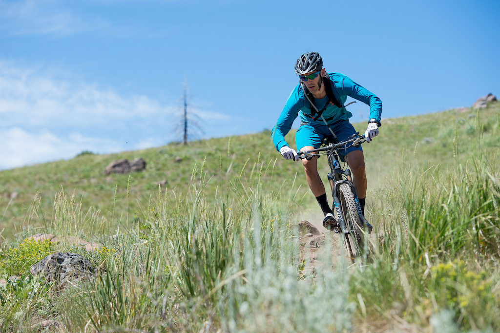 Scott Sports 3 ROX Racing team rider Geoff Kabush is excited about the new Genius and will be riding the 27.5 version in the Trans Provence race this fall.