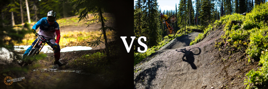 Downhill VS Slopestlye