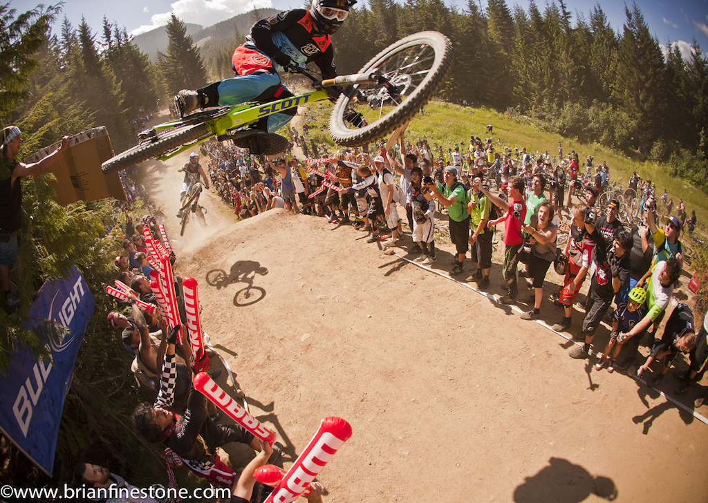 Crankworx Whip Off milliseconds before the camera tap. See video 1 for more detail