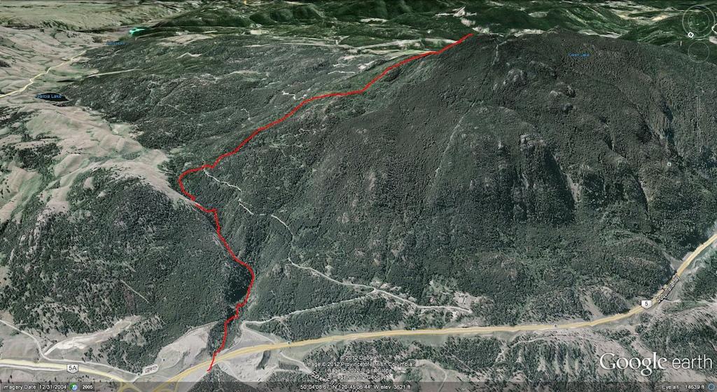 Iron Mtn. Map