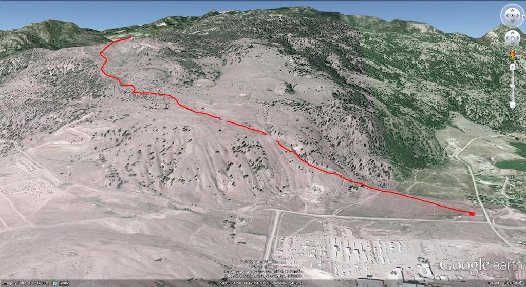 Windy Canyon Map